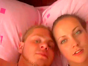 Lovely Russian Duo In A Point of view Shoot Caressing Each Other