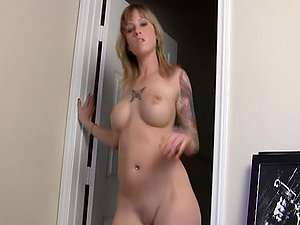 Beautiful Blonde Bubble Butt Cockslut Trisha Storm