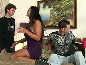 Sexy, Youthful, Fag Fellow With A Hot Figure Luving A Mind-Blowing Bisexual Fuck