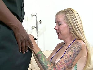 Tabitha James is fucked by a black monster dick