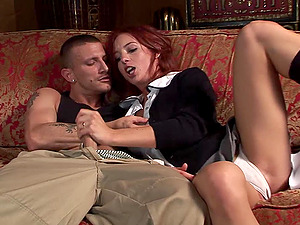 Riley Bashful gets her coochie fucked remarcably well from behind