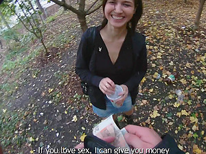 Endearing Cowgirl In Miniskirt Getting Pinned Xxx Outdoor