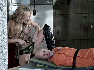 Amy Brooke Rails Johnny Sins In A Xxx Jail Banging