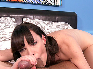 Fascinating dark haired masturbates with fuck stick then gets her asshole drilled xxx