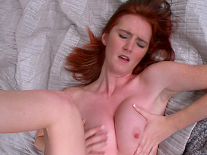 Hot romp with the horny ginger-haired Deedee Lynn