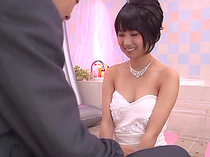 Riku Minato gets her cunt banged after providing a nuru rubdown