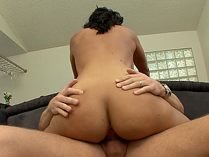 Pornography starlet stunner shows her bj abilities and gets Gonzo fucking
