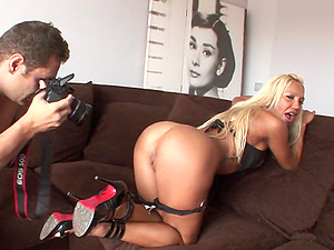 Ginger Hell rails Nacho Vidal's monster dick hard-core doggystyle