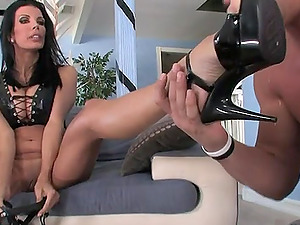 Pleasing Cowgirl Pegging A Cock-squeezing Asshole In A Female domination Fuck-a-thon