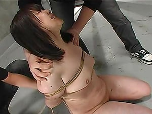 Kinky Marionette Tied Up and Penalized in a Domination & submission Dungeon space