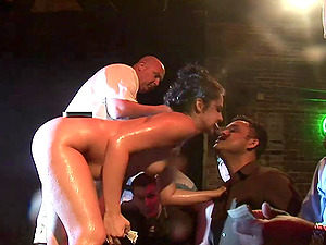 Inexperienced Hot Arse Chicks Gets Banged In A Raw And Wild Fuck Soiree