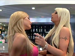 Tattooed Girl-on-girl Lovin? Her Snatch Being Munched Immensely