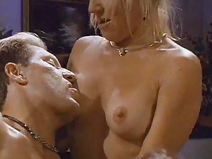 Horny Cougars Gets Their Figures Oiled And Gets Feasted In Threesome