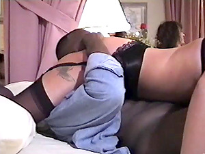 Captivating Blonde In Stocking Getting Gang-fucked Gonzo