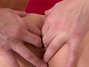 Interracial Threesome With Dark haired Getting Double penetration Banged And Jizzed