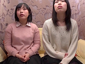 Japanese Lesbos Fuck With Fucky-fucky Playthings In Hot Orgasm