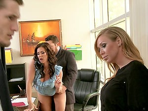 Kendra Enthusiasm And Phoenix Marie In A Wild Xxx Threesome Banging