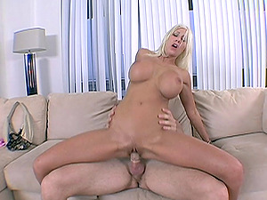 Winsome Blonde With Lengthy Hair Providing Her Fellow Boobjob