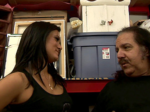 Cece Stone gets fucked by obese elderly fellow Ron Jeremy