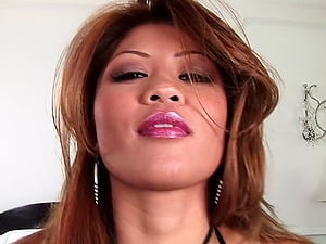 Charmane Starlet gets her Asian cooch smashed by black stud