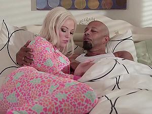 Xxx interracial fucky-fucky scene with blonde honey Jenna Ivory