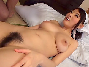 Mao Hamasaki screams sweetly while railing her BF's wang