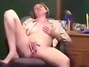 School Instructor Masturbates