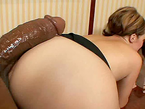 Randy wifey fucking an utterly dangled black man in front of her hubby