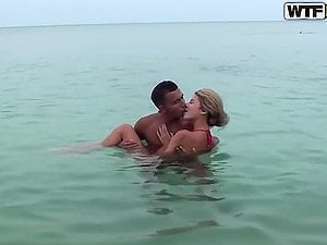 Adventures of insane blonde Russian dame in Thailand