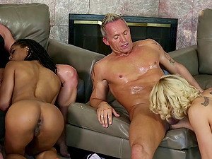 Take a look at this hot swingers orgy in the middle of the day
