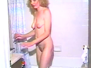 A kinky, wild housewife fucks some very large vegetables