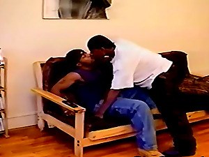 A duo of hot queer black guys make out, masturbate off and fuck