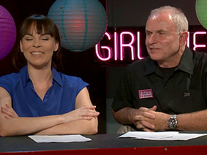 Dana Dearmond and two guys talk about the adult biz
