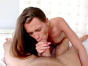Sexy, horny Kacy Lane gets a thick man rod buried inwards her