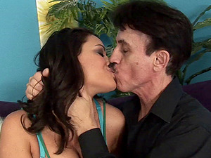 His 50 year old penis fucks trampy Charley Chase gonzo