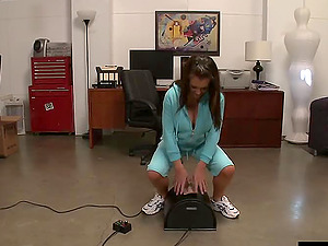 Jenna Presley completes up with a big flow of jizm on her nice