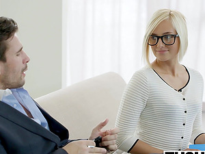 TUSHY Hot Assistant Kate England Gets Assfuck from Customer