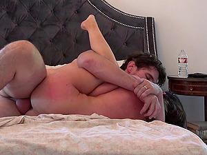 Big faux jugs sweetie Kendall Karson in a homemade style fuck scene