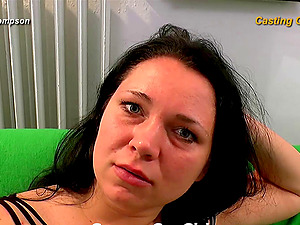 Hot footage behind the scenes at a crazy German gang-bang