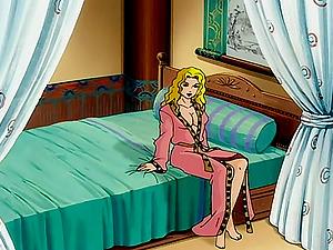 Anime porn blondie undress