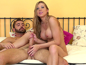 Shawna gets poked with a fat dick and loves every inch