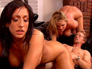 Ricki and Kelly are horny honeys who want the dick right now!