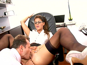 Best assistant cockslut ever fucked by the horny chief