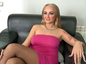 Sexy Kayla Green wears the arousing stockings and loves having romp