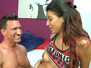 Wicked honey permits the muscular boy to give her a rear end shagging