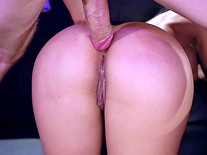 Driving his lengthy thick dick into the culos of fucksluts