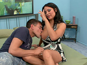 Sophia has but one desire and that is to rail the stiff schlong