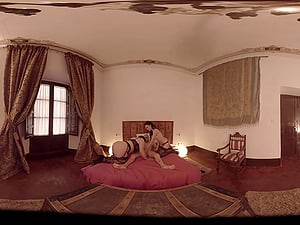 VR Pornography The Spanish Threesome in 360
