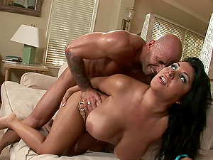 Chesty Jaylene goes wild and agrees to have a spooning venture