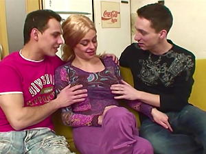 Elderly Blonde Lady Vagina And Buttfuck Fucked By Youthfull Hard-ons